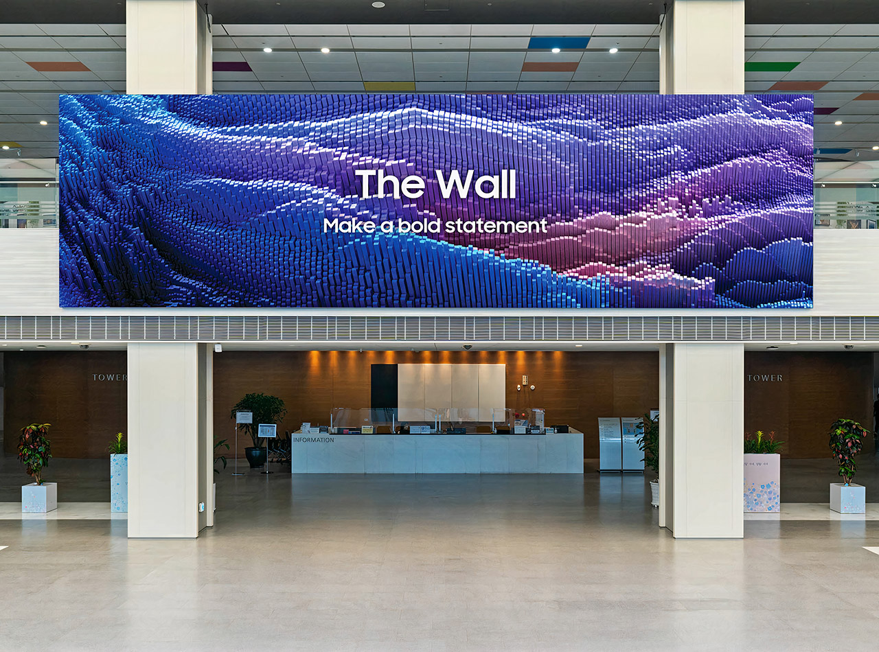 Samsung 2021 The Wall MicroLED 8K Resolution