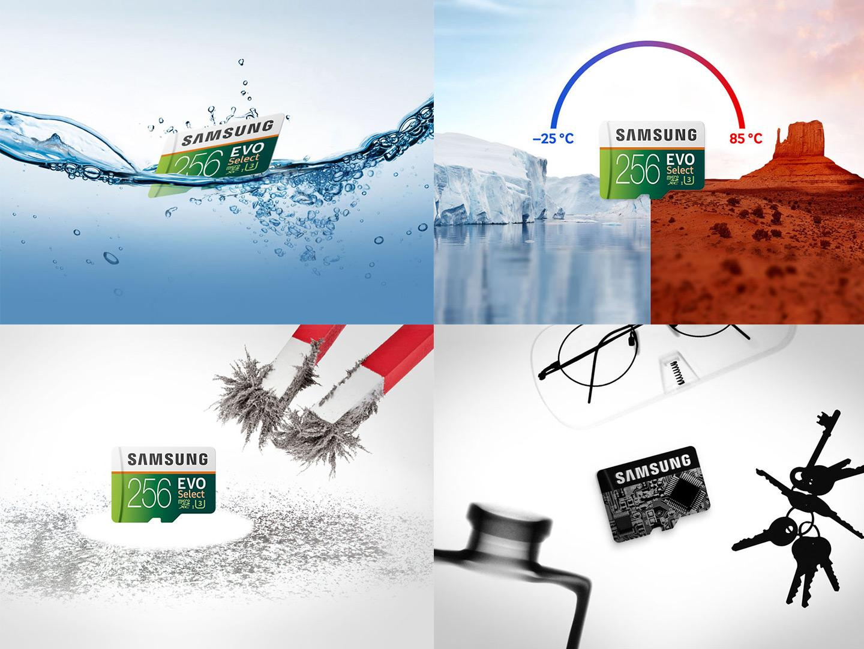 Samsung 256GB EVO Select MicroSDXC