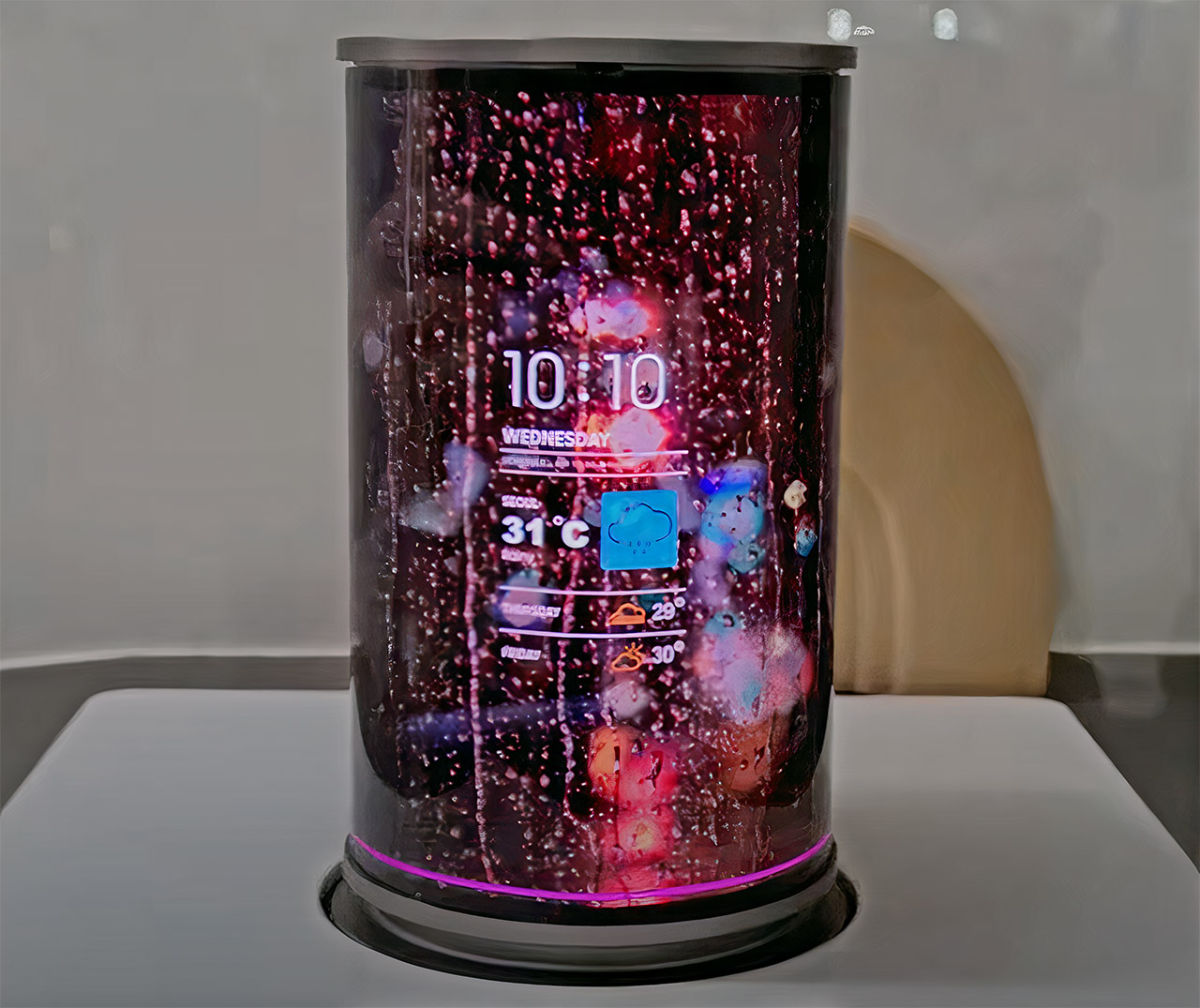 Samsung AI Smart Speaker Flexible Display Television Set