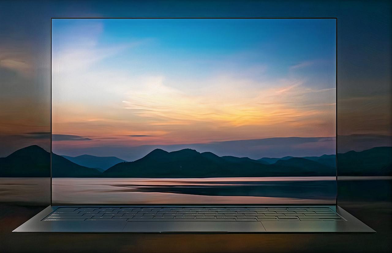 Samsung Blade Bezel Laptop OLED