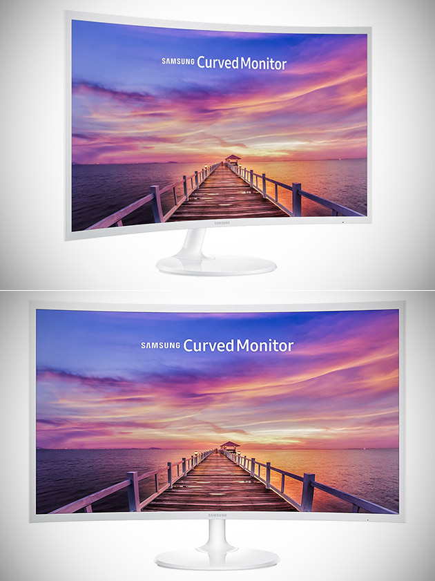 Samsung CF391 Curved Monitor