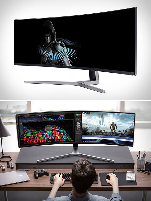 Samsung QLED Curved Gaming Monitor