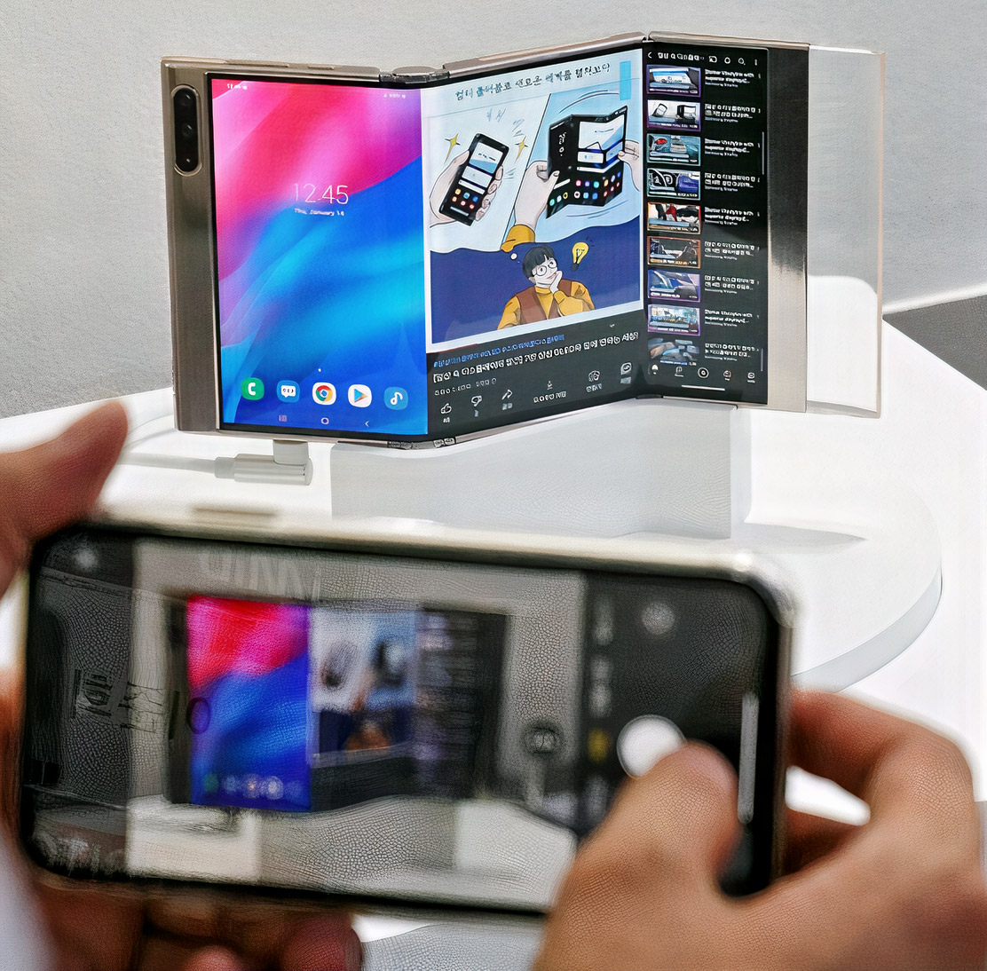 Samsung Flex In and Out Flexible Display IMID 2021