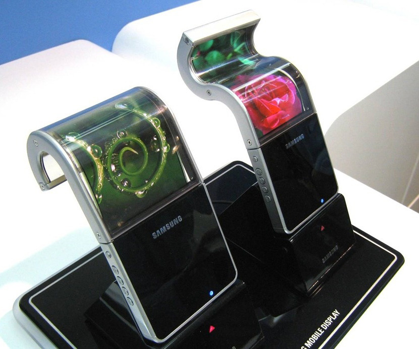 Samsung Foldable OLED Display Phone