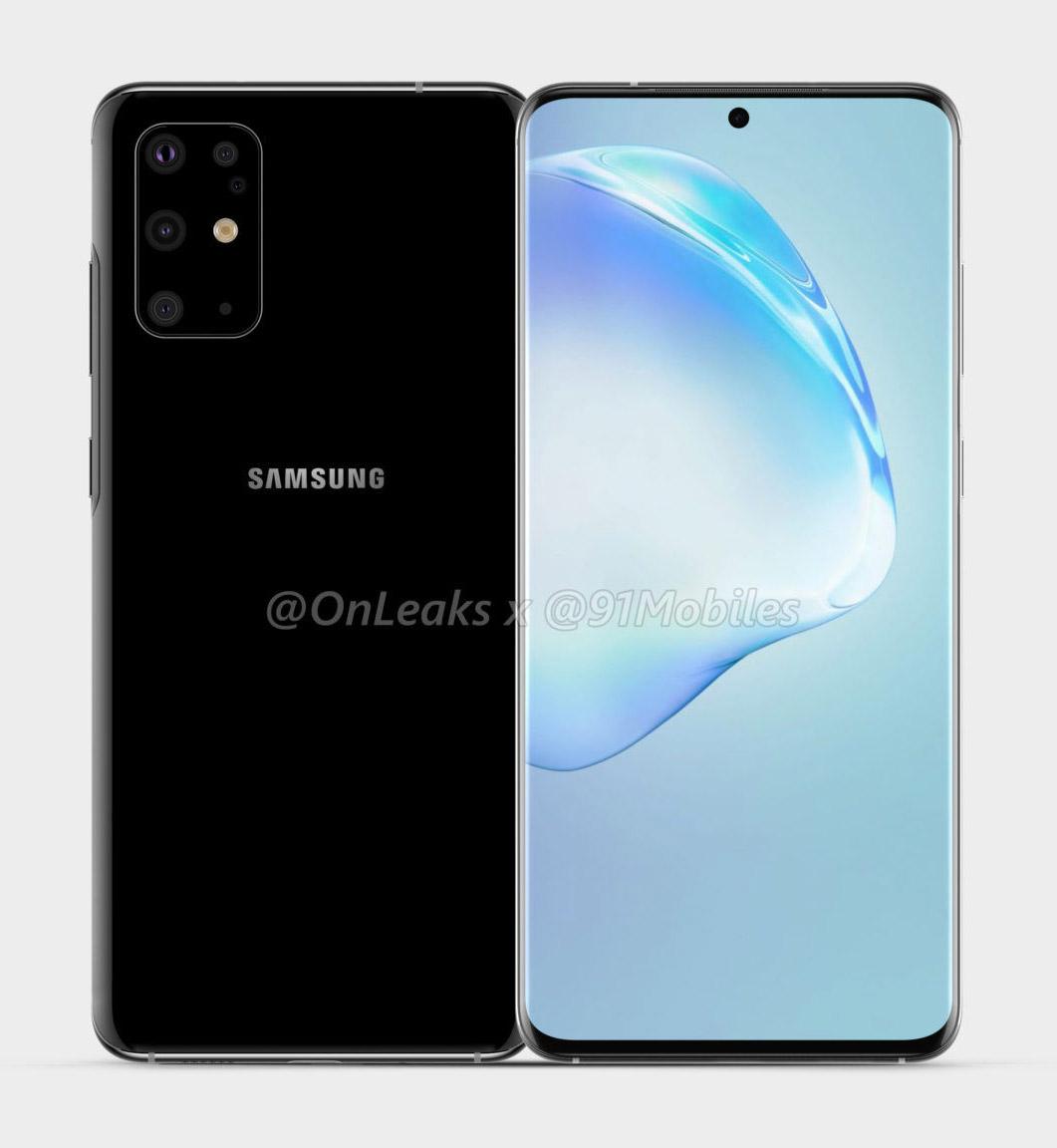 Samsung Galaxy S11 Render Leak