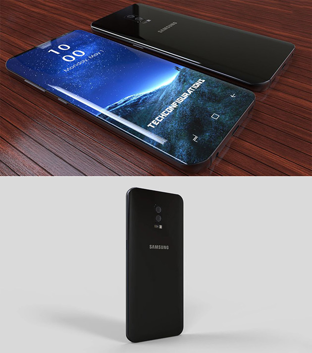 Samsung Galaxy S9 Gets Pictured In Video Has 95 Screen To Body