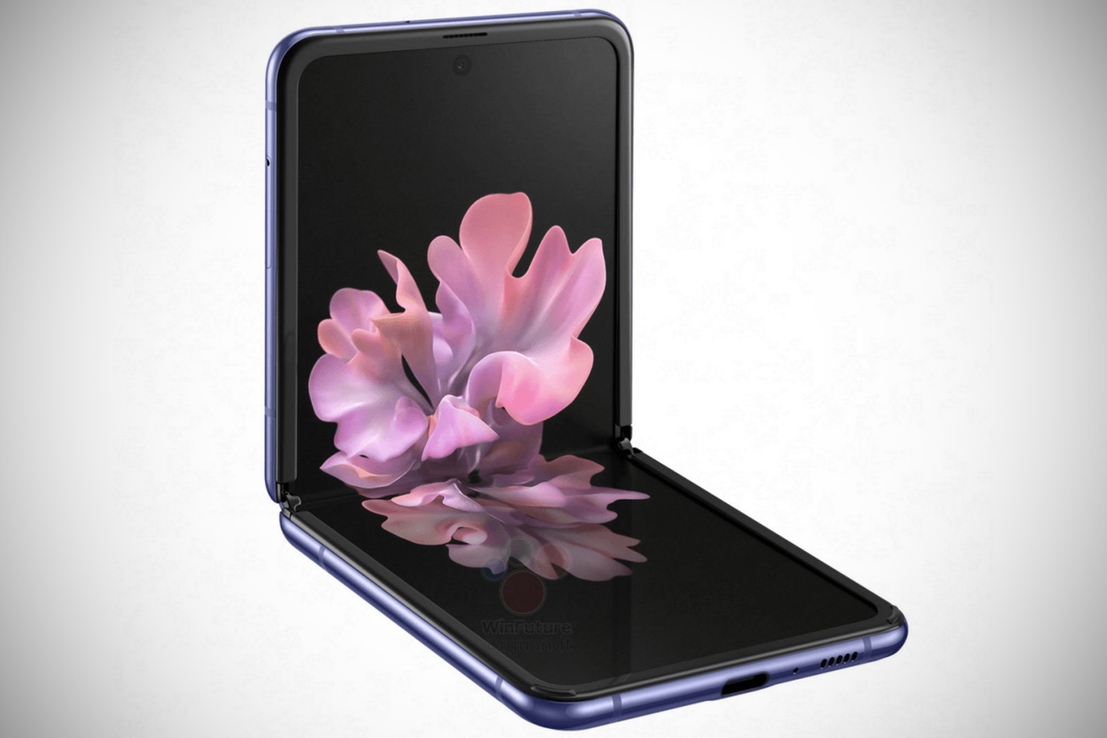Samsung Galaxy Z Flip Leak Official