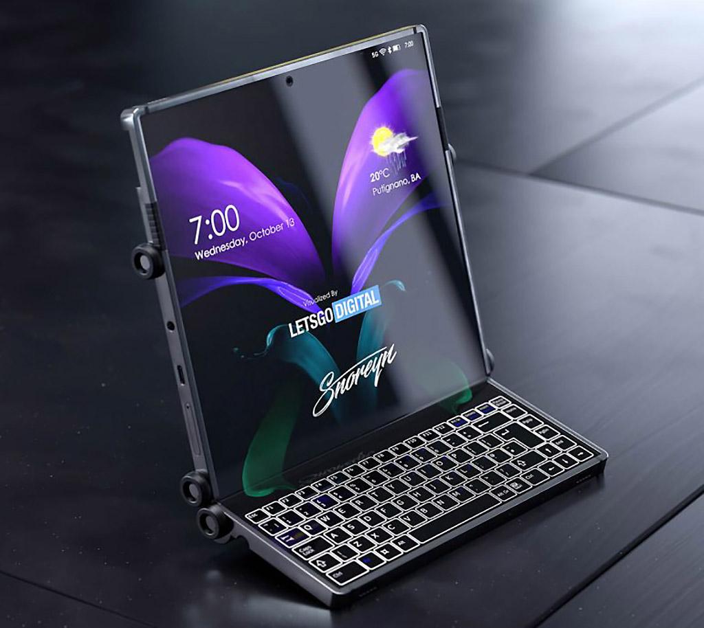 Samsung Galaxy Z Dual Fold Smartphone Tablet