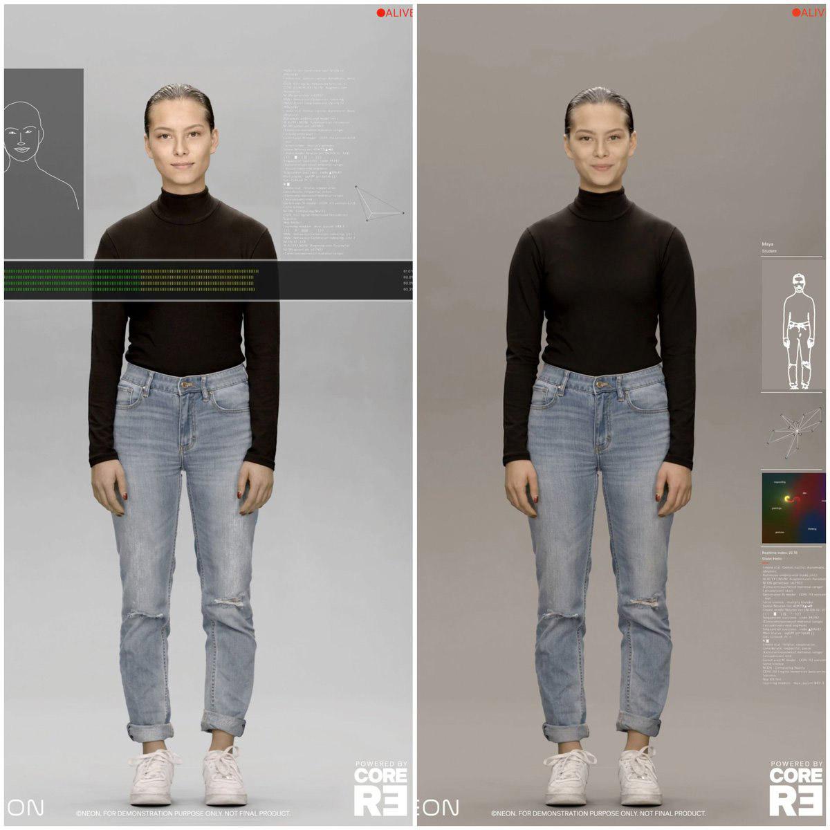 Samsung Neon AI CES 2020