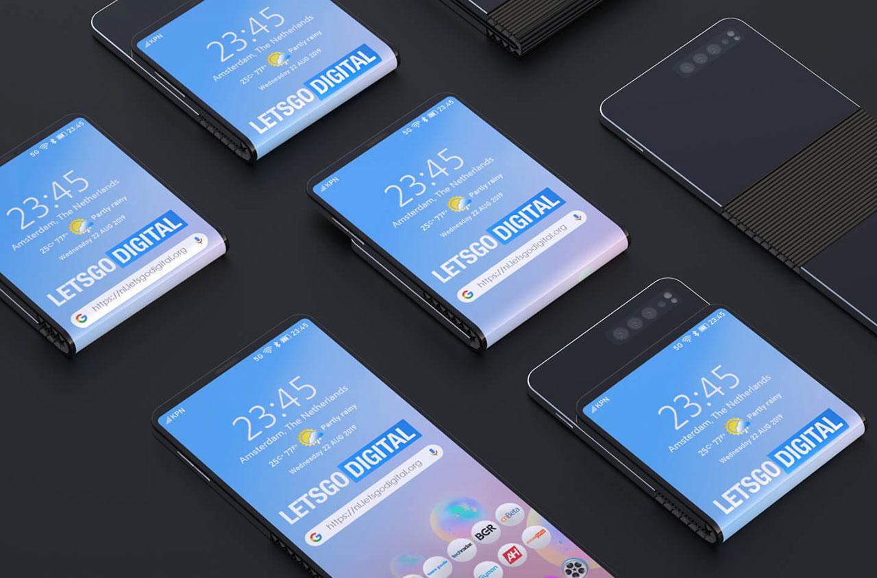Samsung Patent Flexible Smartphone