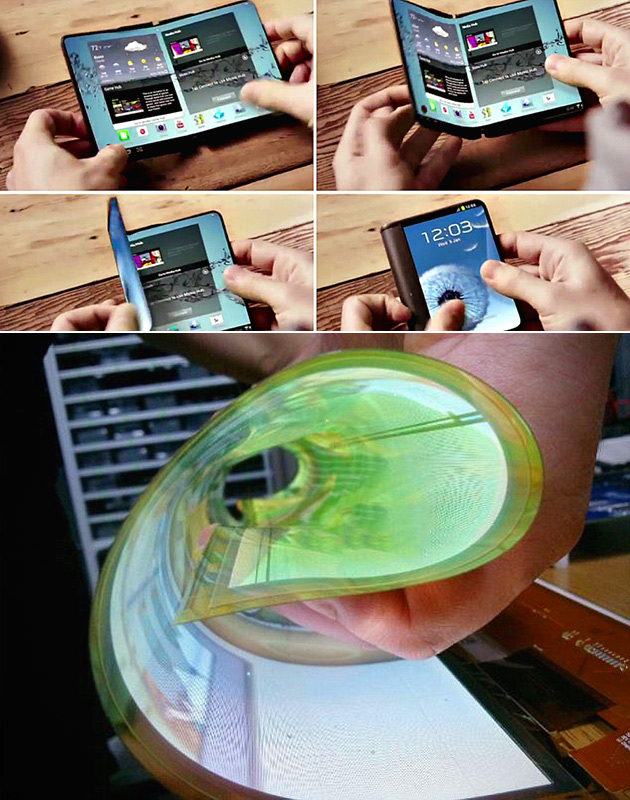 Samsung Project Valley Foldable Smartphone