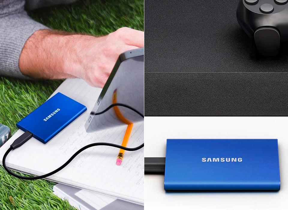 Samsung T7 Portable SSD Hard Drive