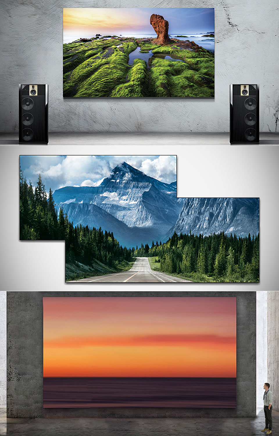 "Samsung's ""The Wall"" is World's First Modular MicroLED 146-inch TV"