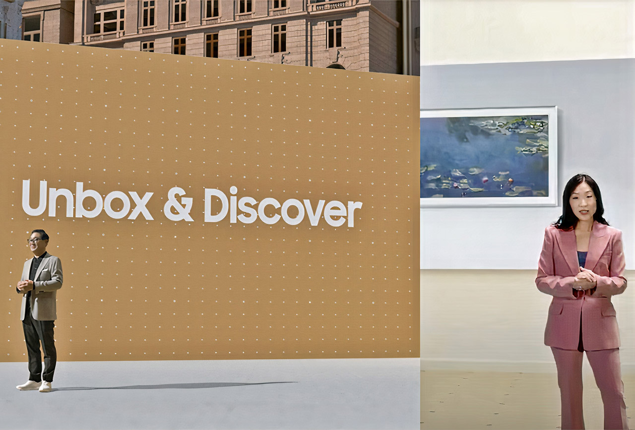 Samsung Unbox Discover event MicroLED
