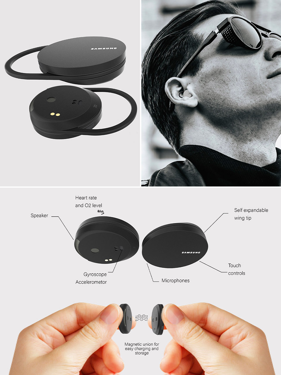 Samsung YinYang Wireless Earbuds