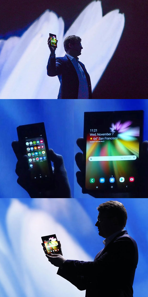 Samsung Foldable Phone Infinity Flex