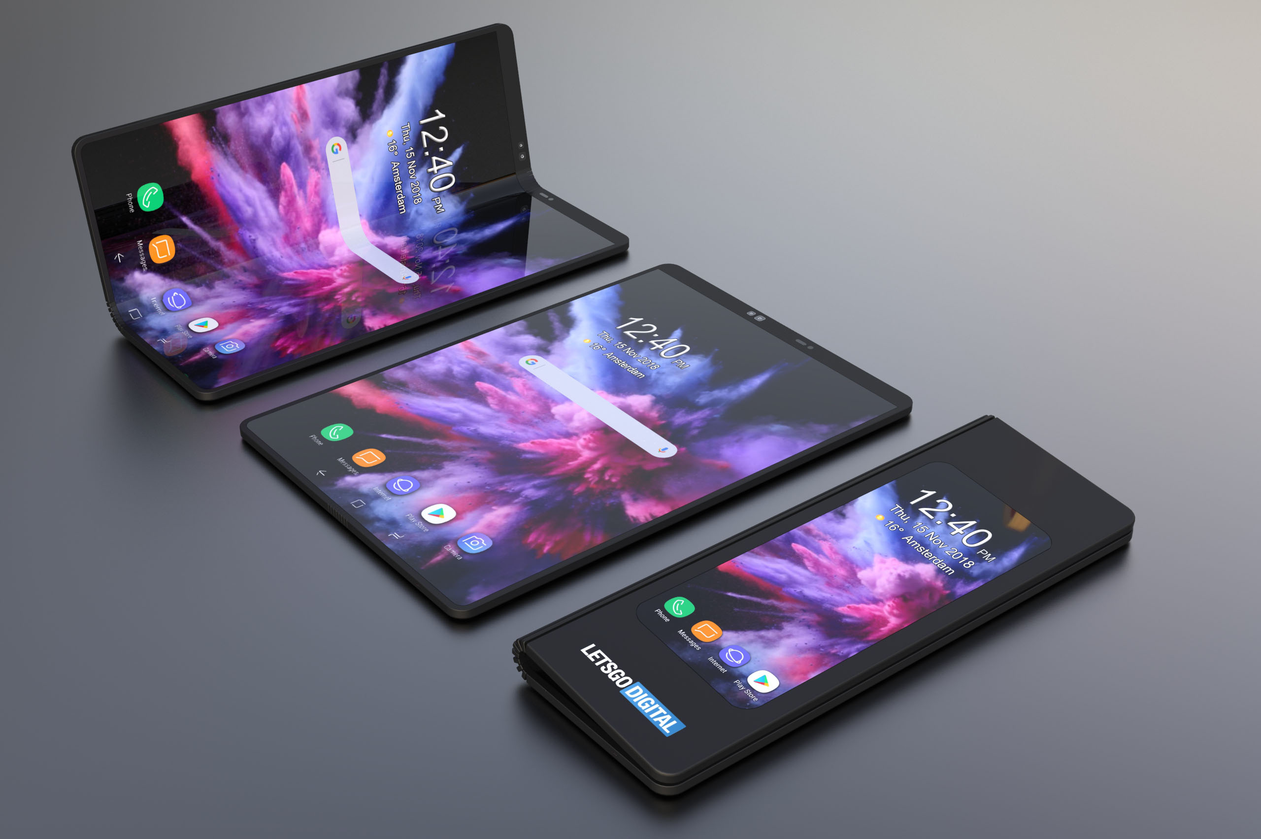 Image result for Samsung's $2,000 folding phones