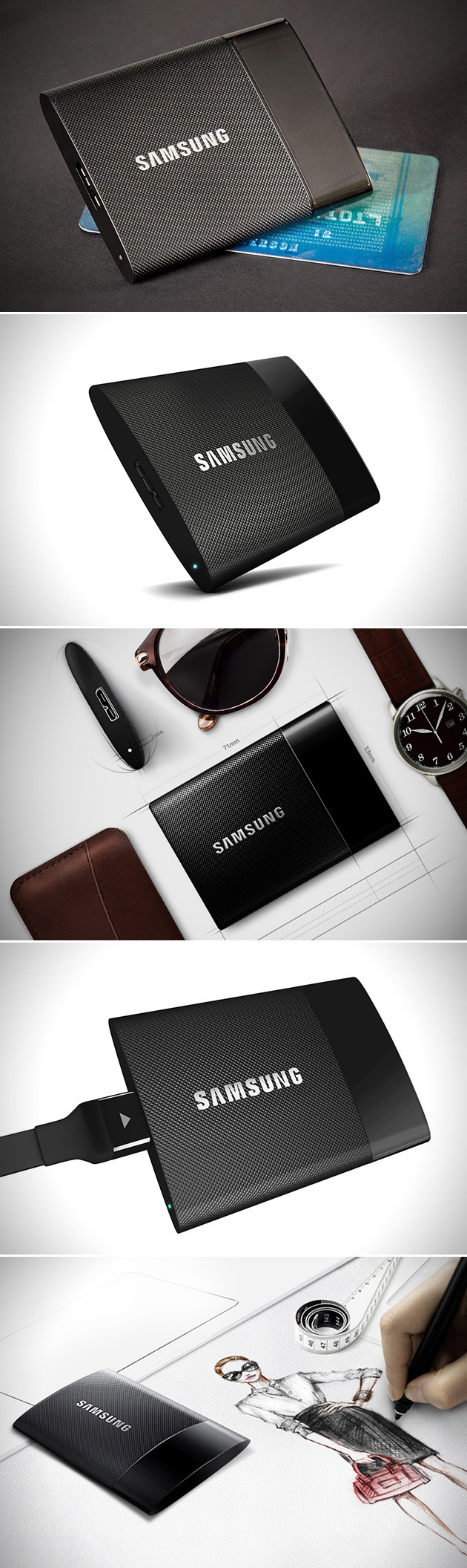 Samsung Portable SSD T1