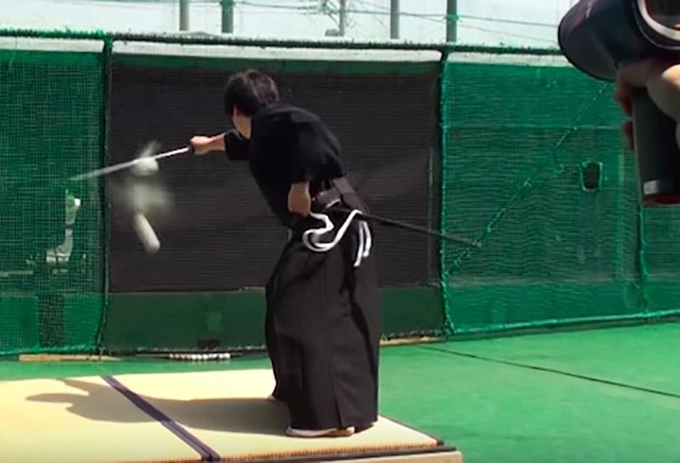 Samurai Slice Baseball