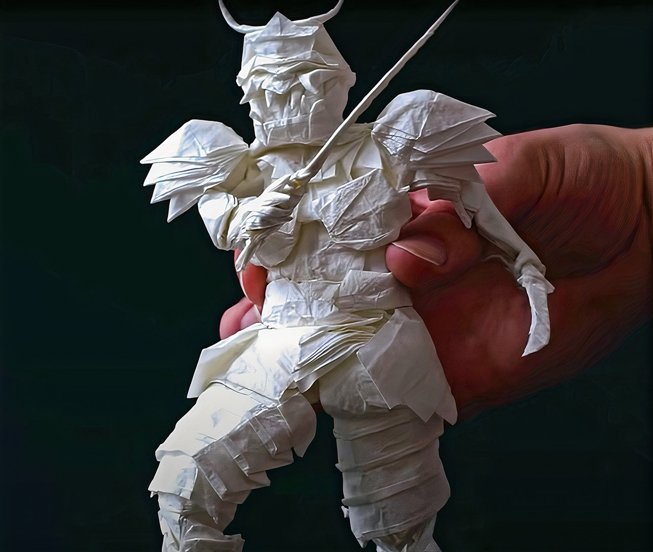 Samurai Warrior Origami