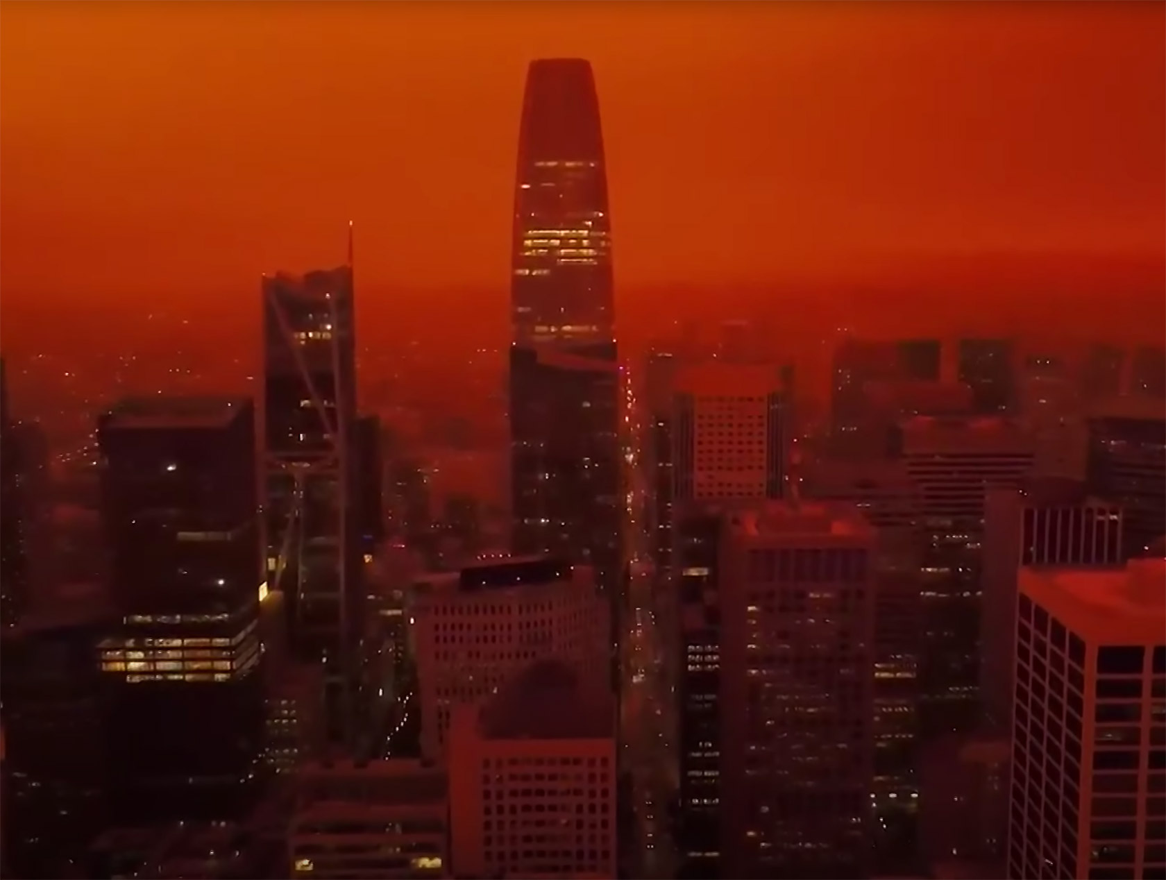 San Francisco Blade Runner 2049 Sky Orange