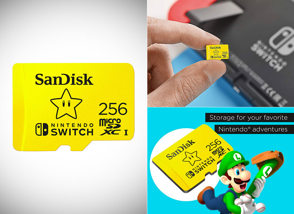 SanDisk 256GB MicroSDXC Nintendo Switch