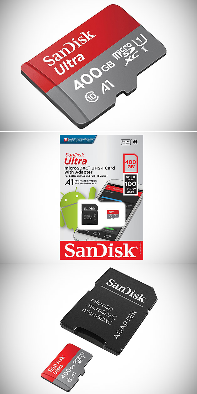 Don't Pay $250, Get SanDisk's 400GB microSDXC Card w/Adapter (Switch Compatible) for $159.99 Shipped - Today Only