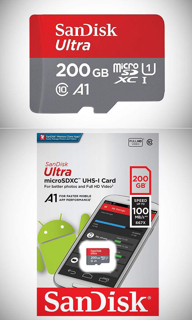 SanDisk Ultra 200GB Micro SDXC