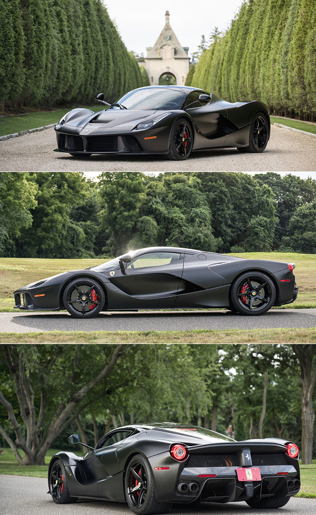 Satin Black LaFerrari