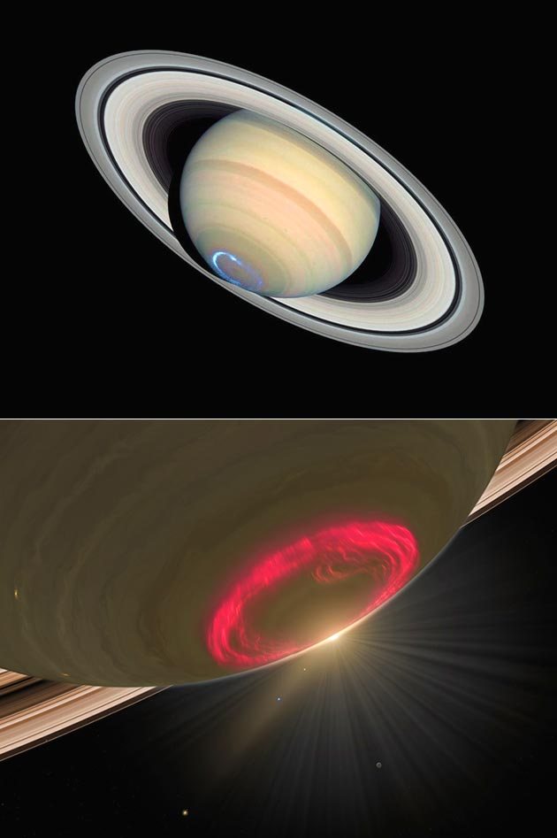 Saturn Aurora Sounds