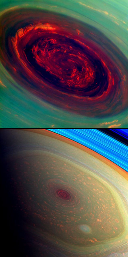 NASA Captures Incredible Images of Mysterious Hurricane on ...