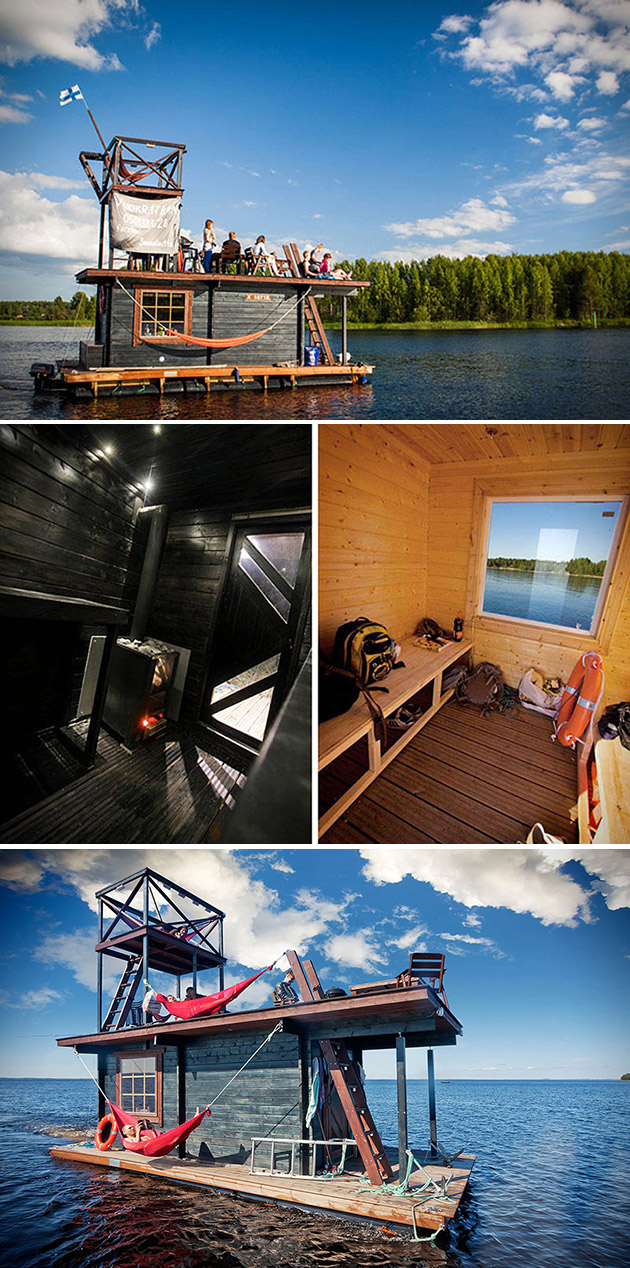 Floating Sauna Raft
