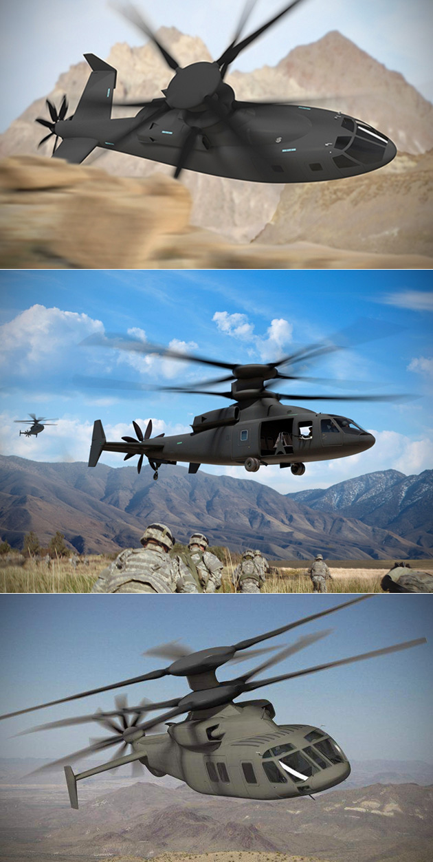 Stealthy SB1 Defiant Vertical Lift Helicopter Could Replace the Blackhawk, Can Hit 300MPH