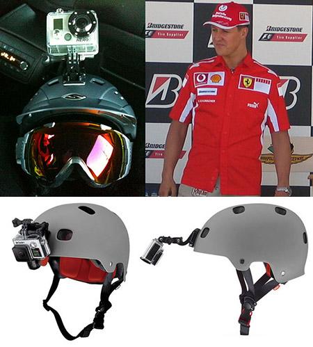 Schumacher GoPro