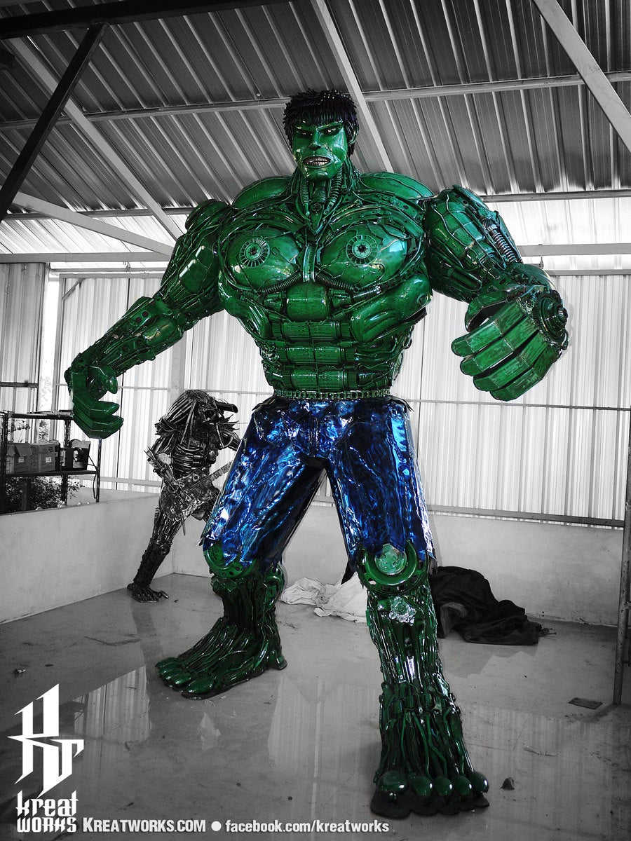Scrap Metal Incredible Hulk