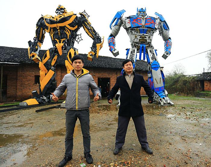 Scrap Metal Transformers