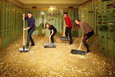 Vous pouvez acheter cette voûte de banque Picsou Scrooge remplie de 8 millions de pièces de monnaie