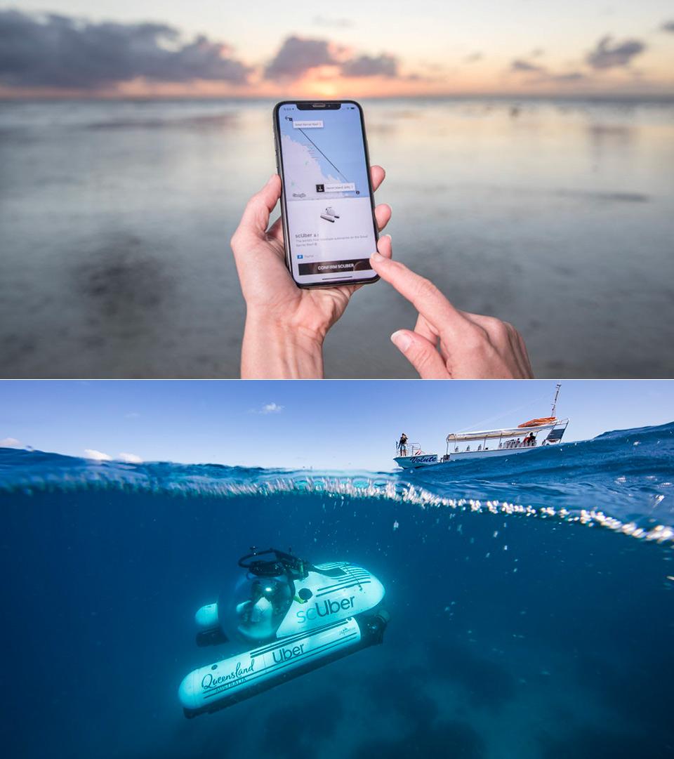 Scuber Rideshare Submarine