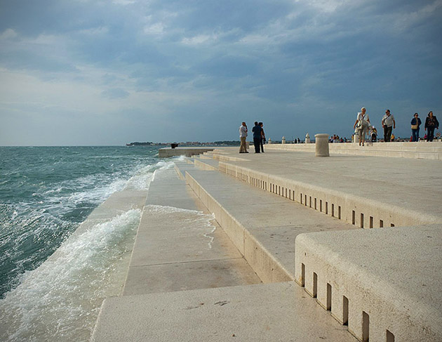 Sea Organ Steps