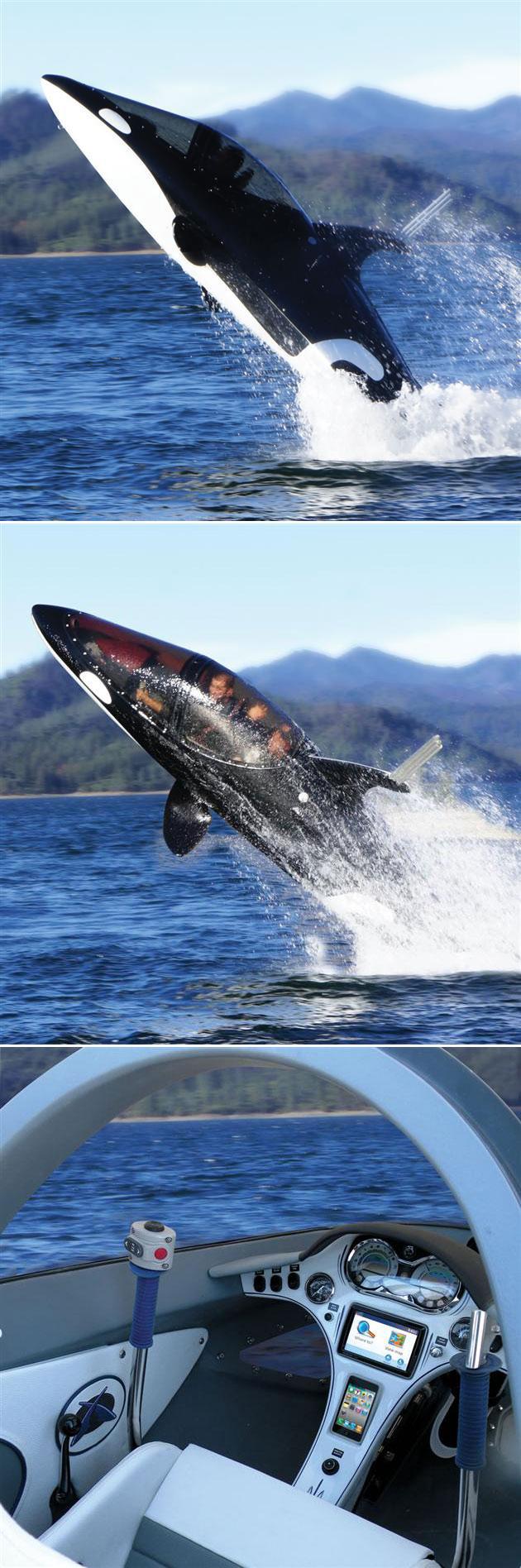 Seabreacher Y Killer Whale Submarine