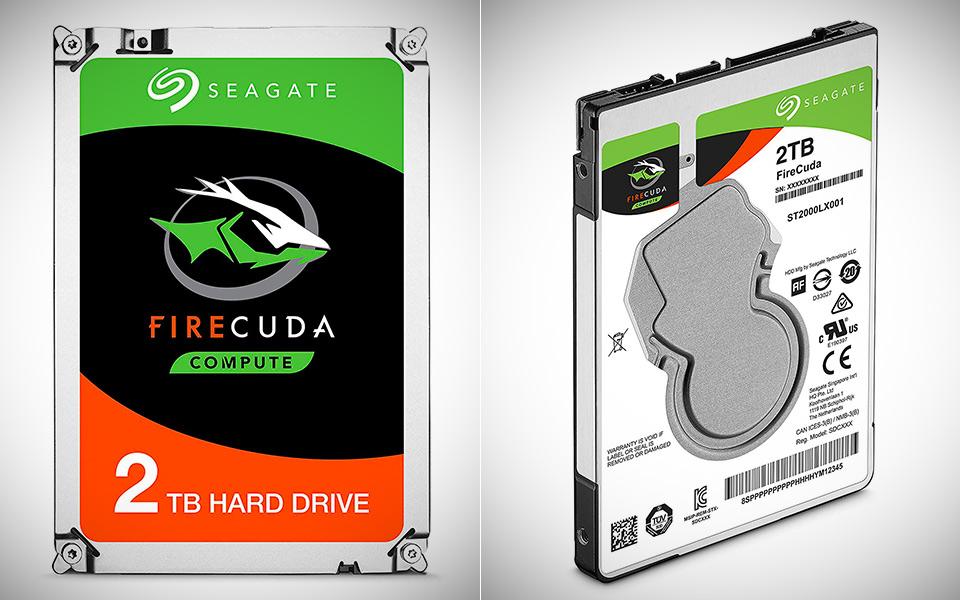 Seagate 2TB Firecuda SSHD