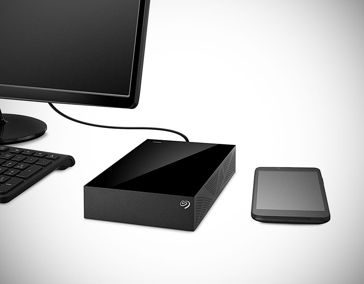 Seagate Desktop 8TB External Hard Drive
