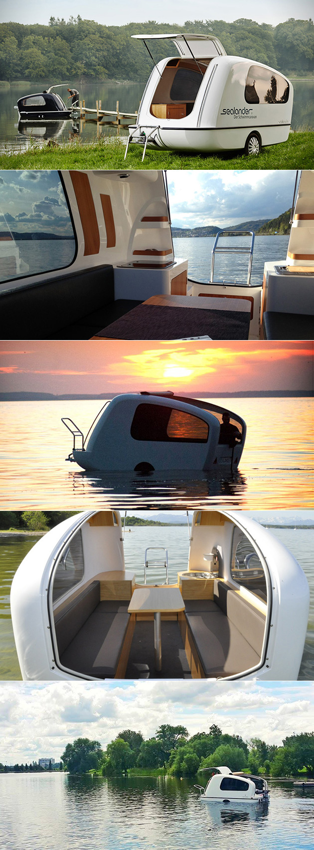 Sealander Amphibious Caravan