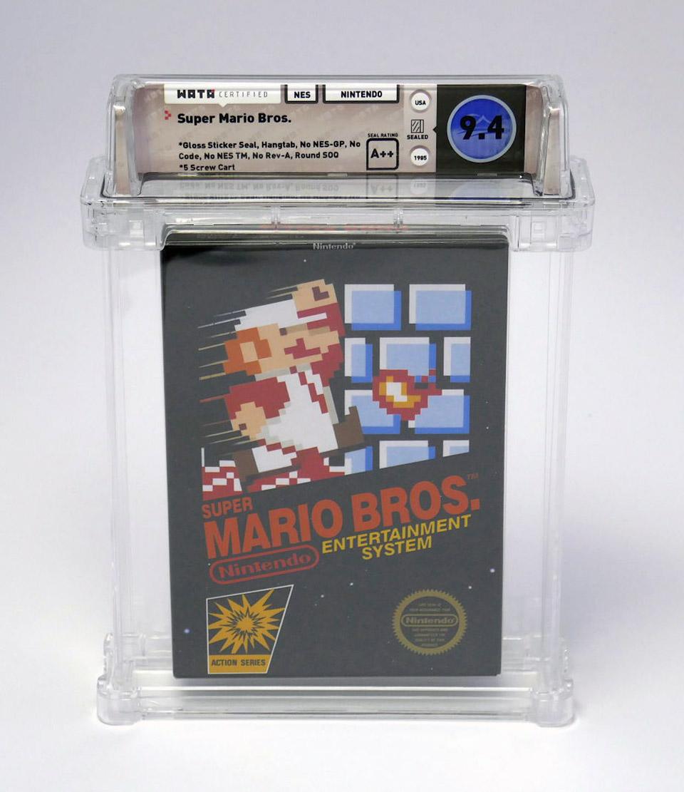 Sealed Super Mario Bros. NES