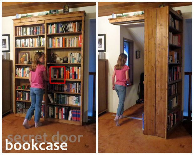 How to Make a Secret Door Bookcase in a Few Easy to Understand Steps