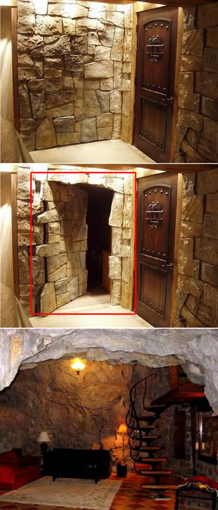 20 Awesome Hidden Rooms That Every Geek Home Should Have