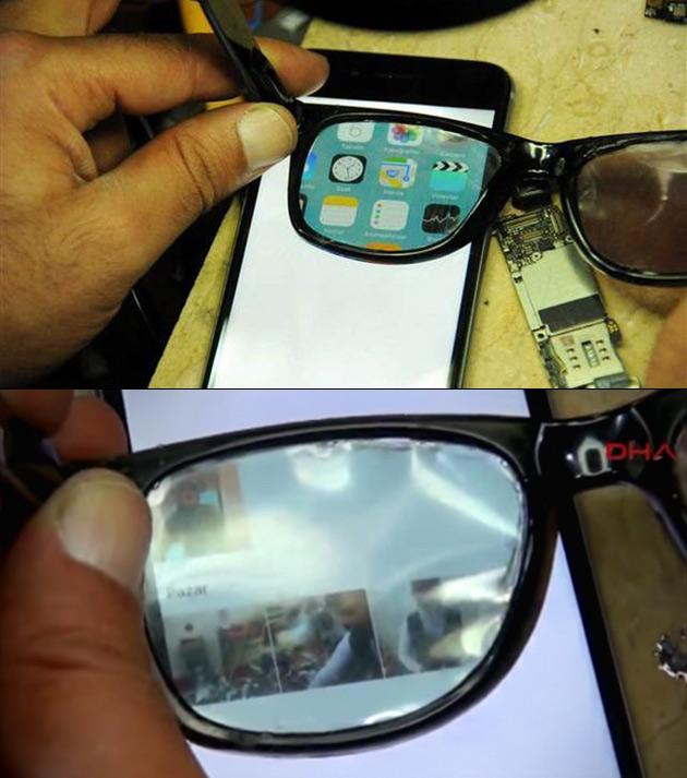 Secret iPhone Display