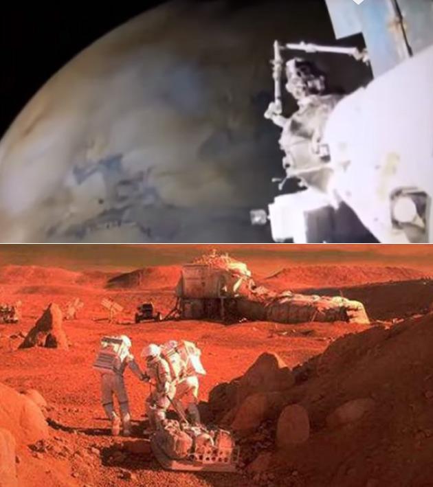 Secret Mars Mission