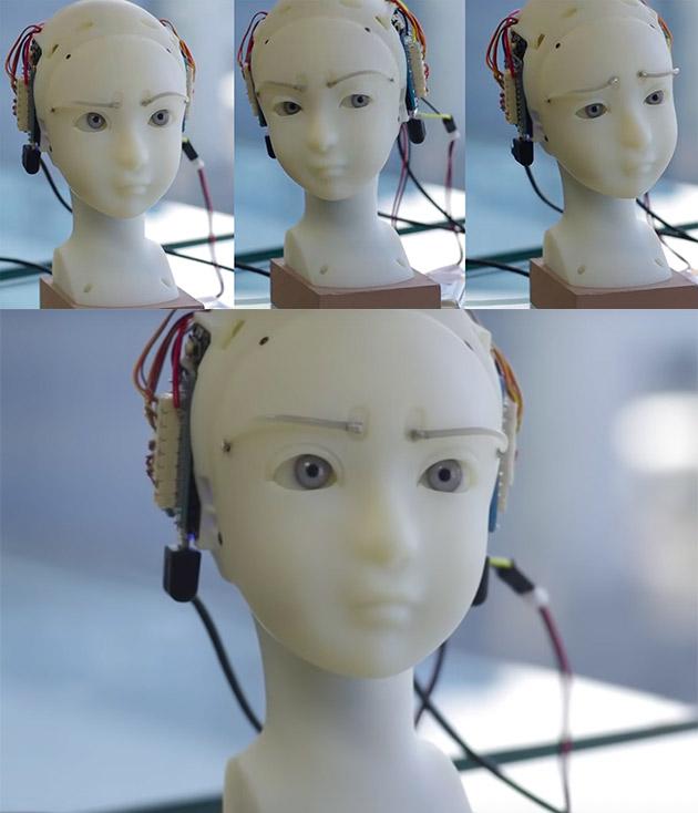 SEER Emotional Expression Robot