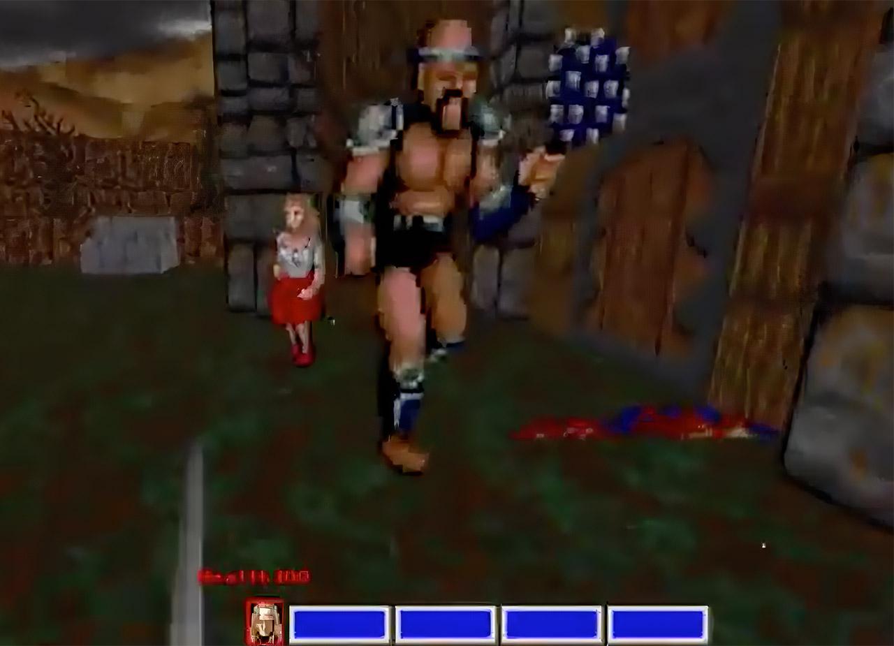 SEGA Golden Axe DOOM Video Game Remake FPS